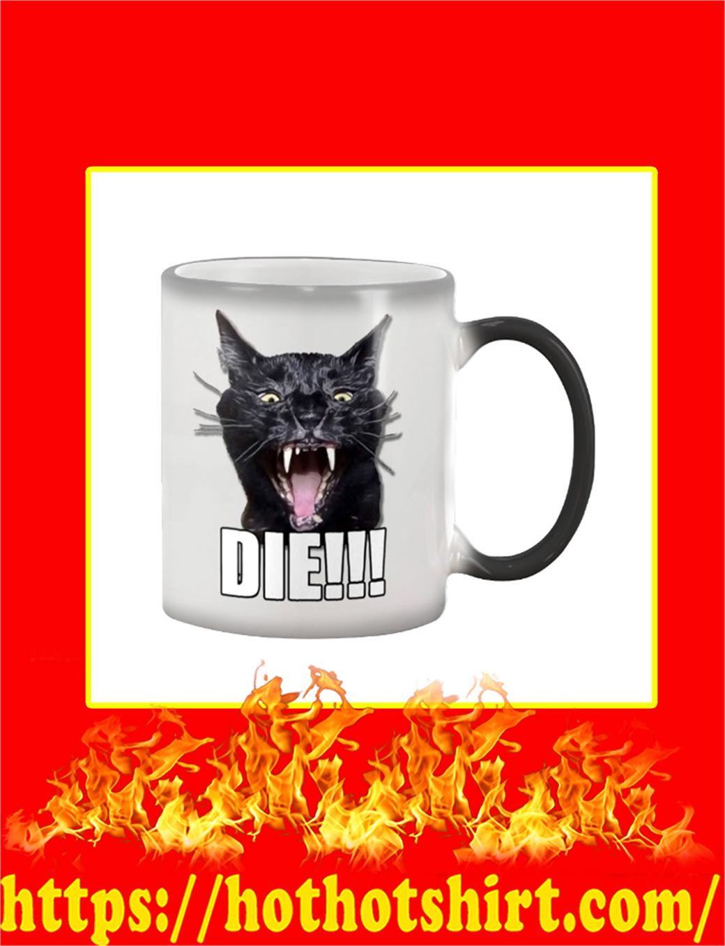 Sylvester Talking Kitty Cat Die Mug- color changing