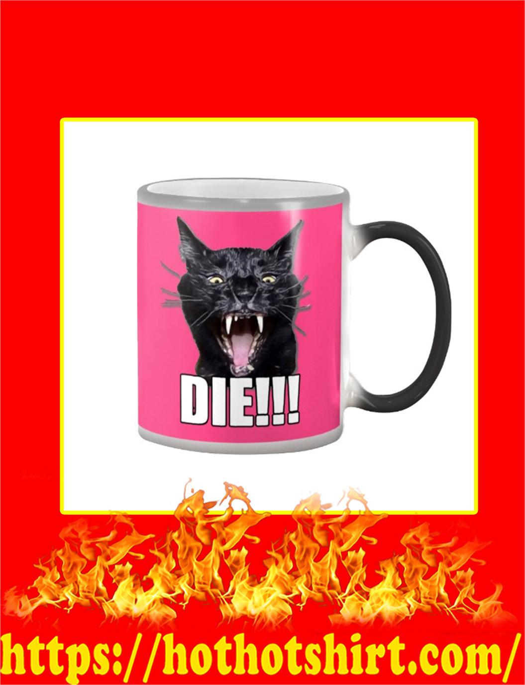Sylvester Talking Kitty Cat Die Mug- cyber pink