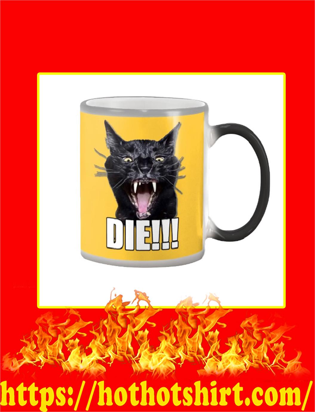 Sylvester Talking Kitty Cat Die Mug- gold