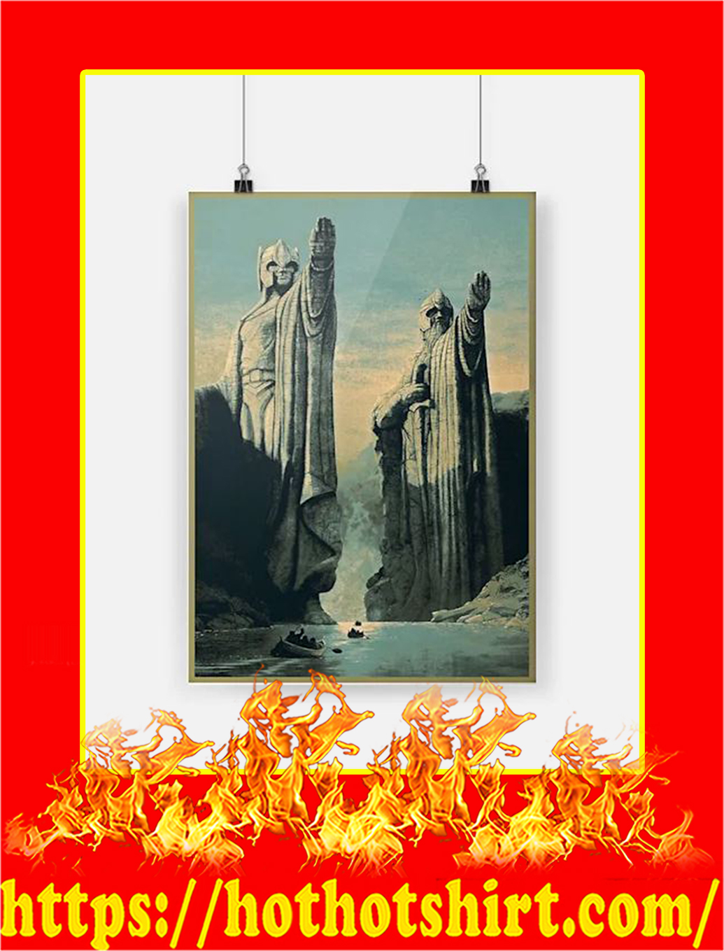 The Lord of the Rings Poster - A3