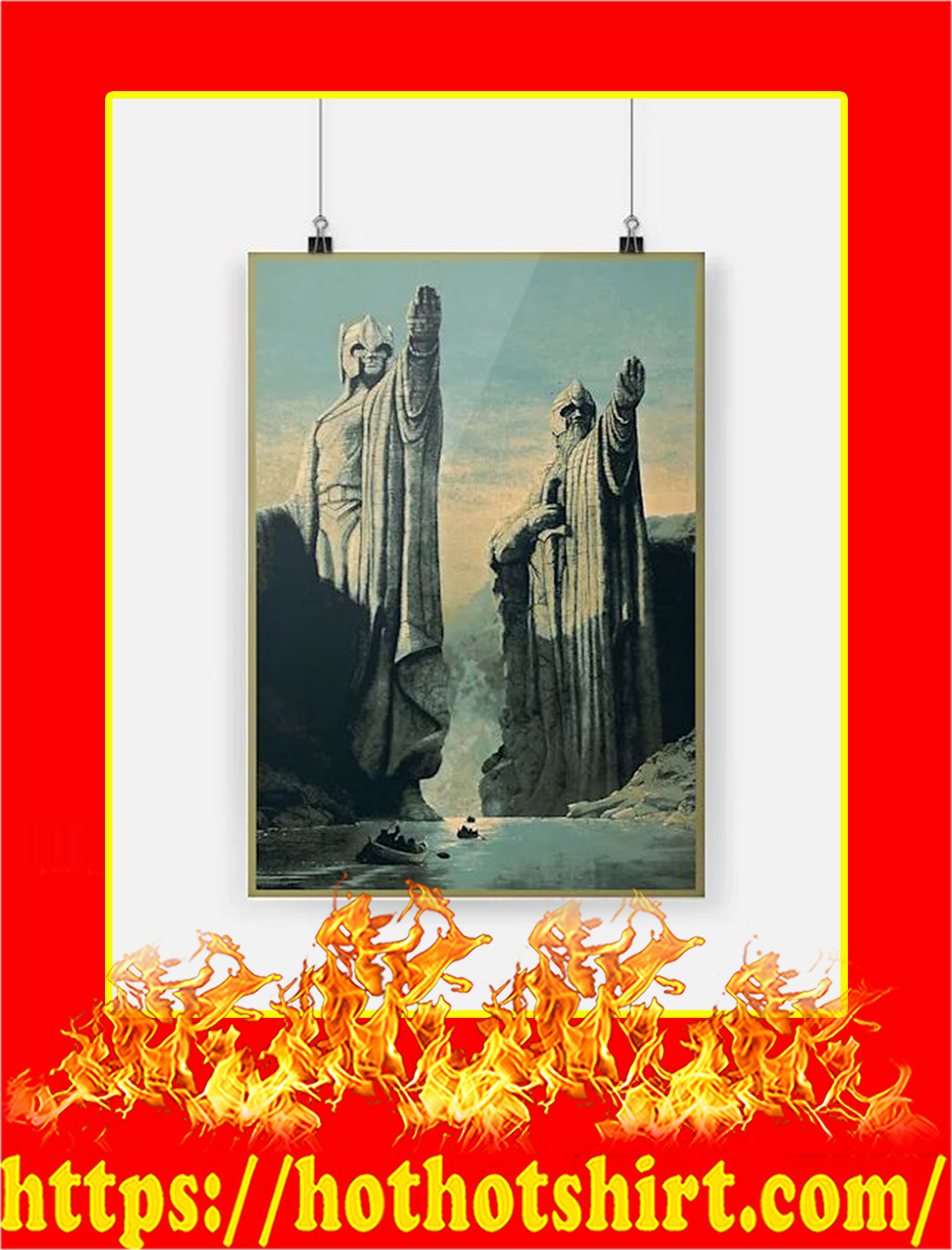 The Lord of the Rings Poster - A4