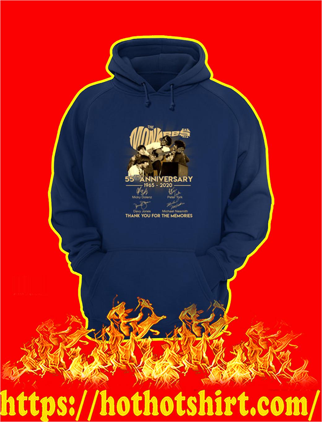 The Monkees 55th Anniversary 1965 2020 hoodie