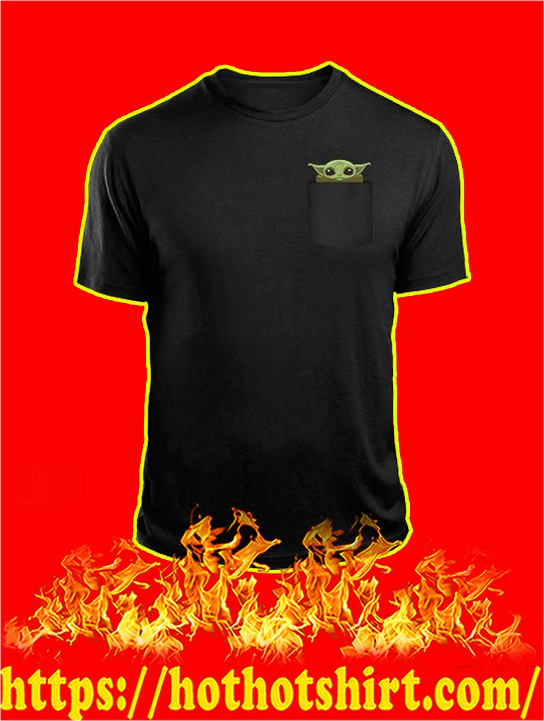 Yoda Fuck You Pocket T-shirt - Front