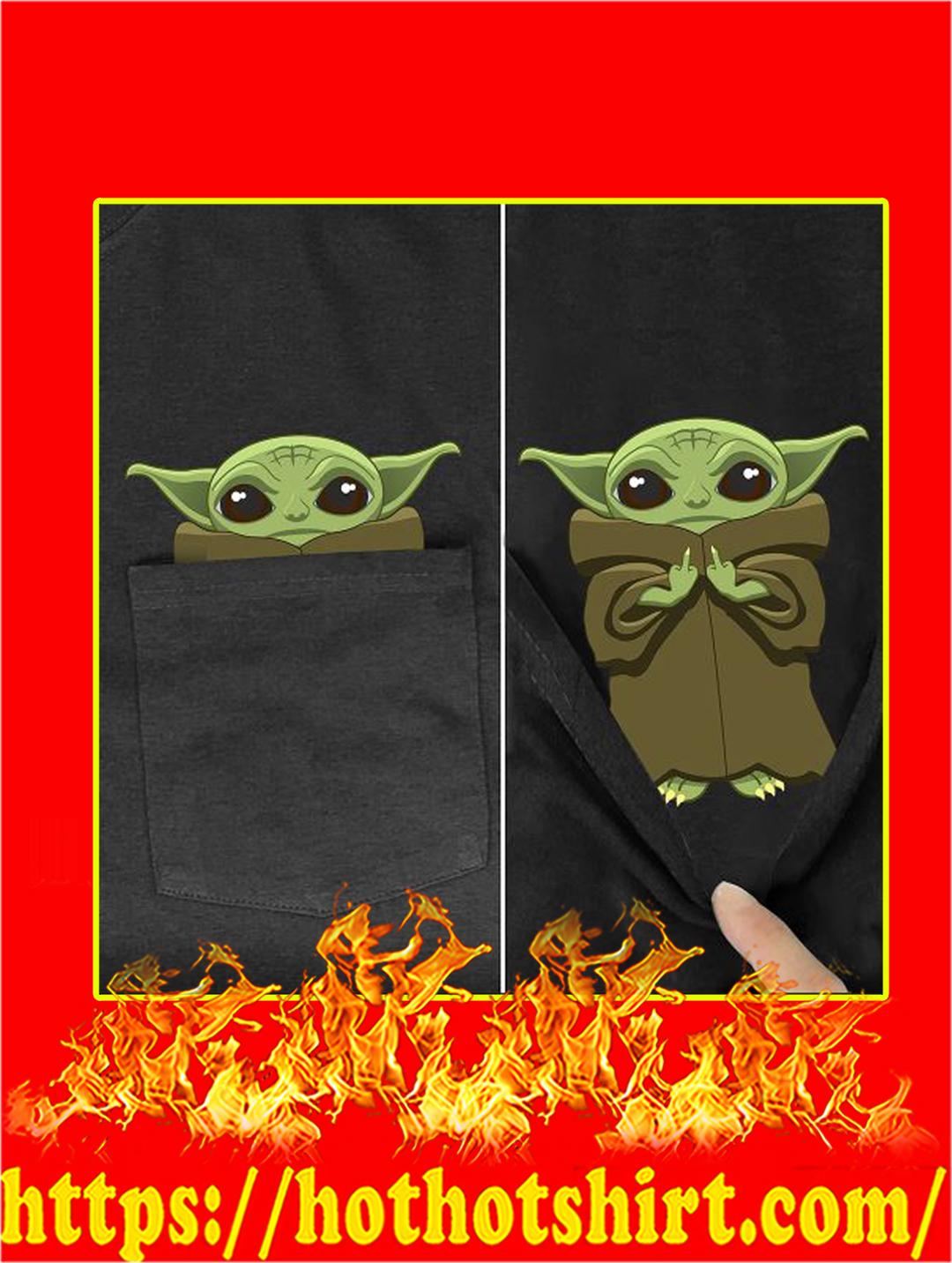 Yoda Fuck You Pocket T-shirt - Pocket