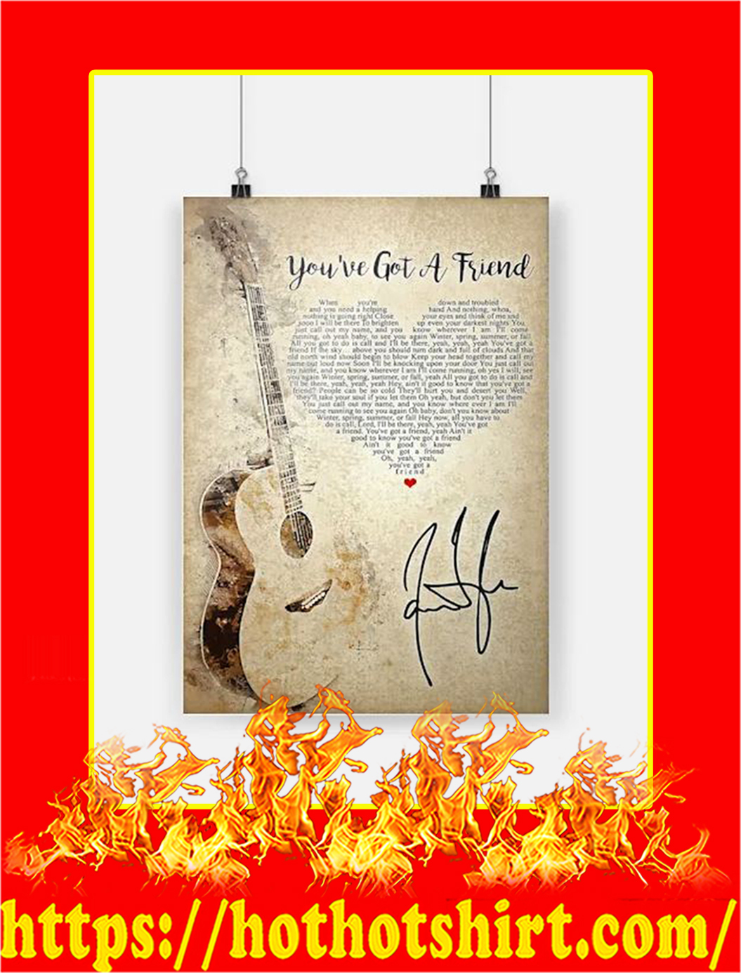 You've Got A Friend Poster - A2