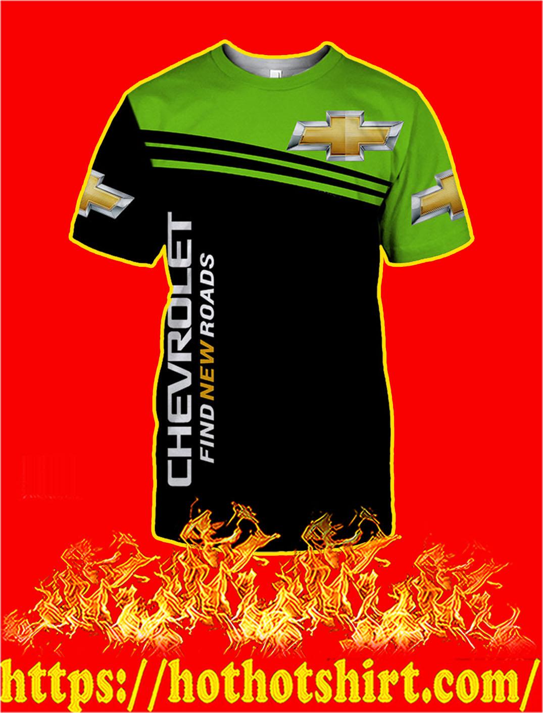 Chevrolet Find New Roads 3D T-shirt