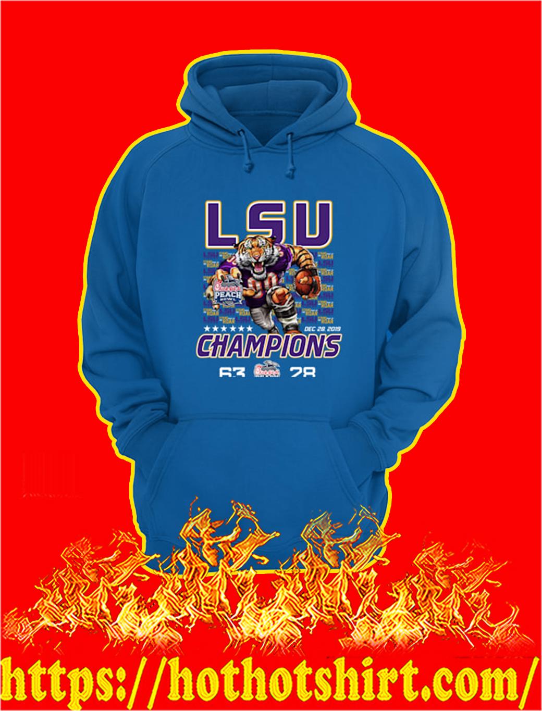 LSU Tigers Champions Chick fil A hoodie