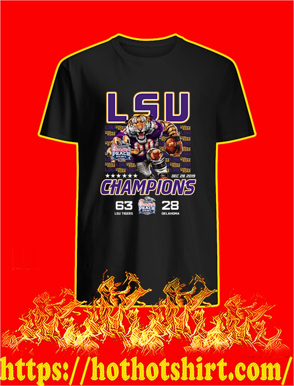 LSU Tigers Champions Chick fil A shirt