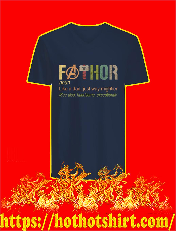 Like A Dad Fathor v-neck