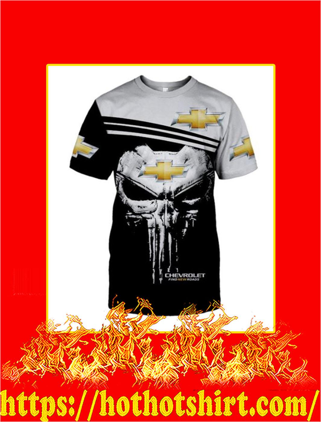 Punisher Skull Chevrolet 3D All Over Print T-shirt