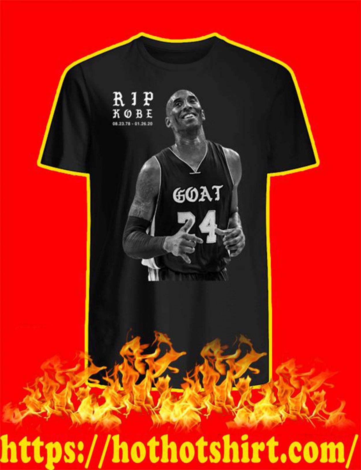Rip Kobe 01 26 20 shirt