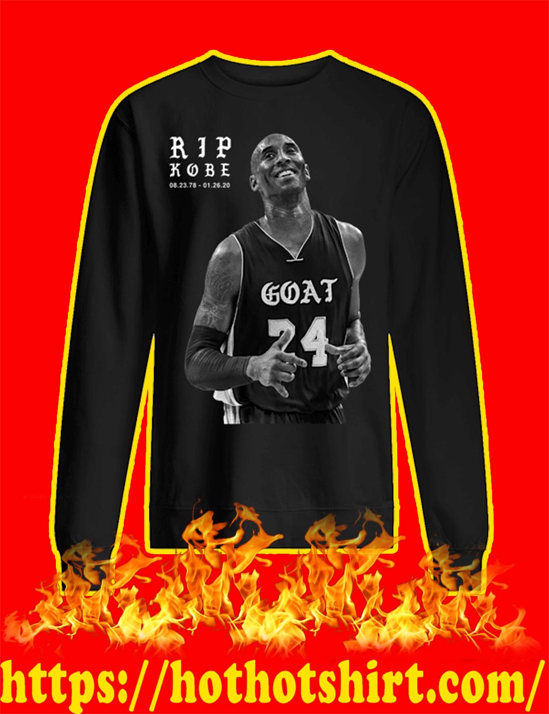 Rip Kobe 08 23 78 - 01 26 20 sweatshirt