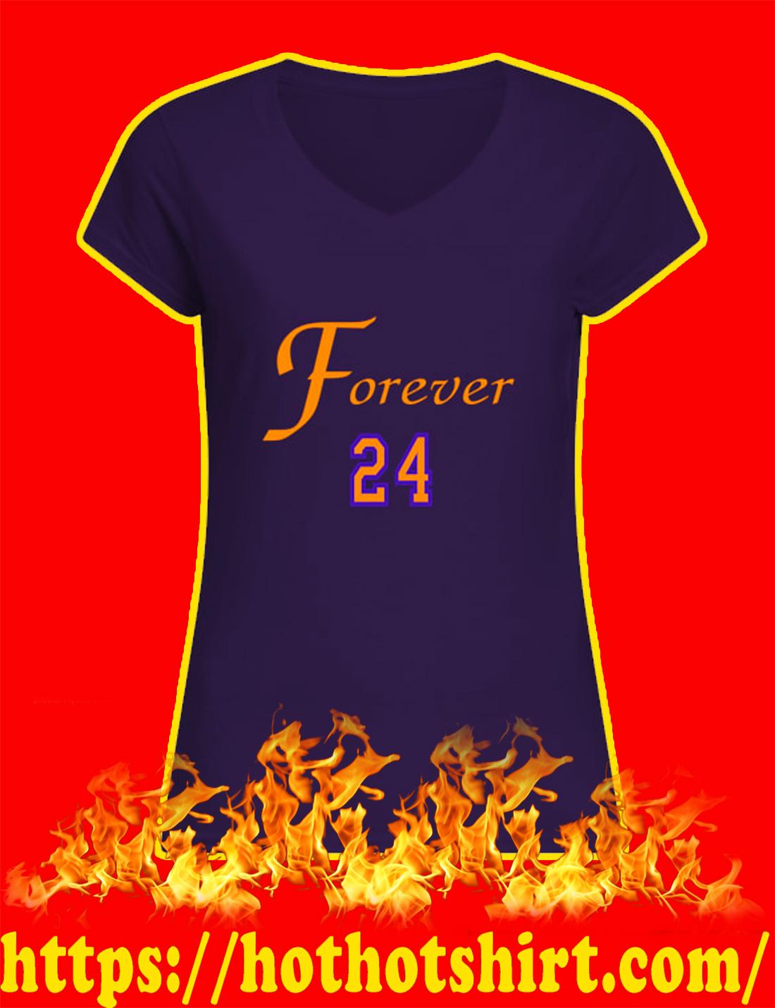 Rip Kobe Bryant Forever 24 v-neck