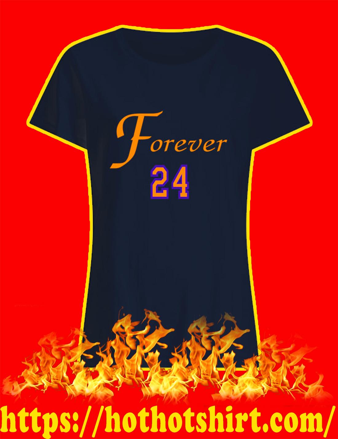 Rip Kobe Bryant Forever 24 women's shirt