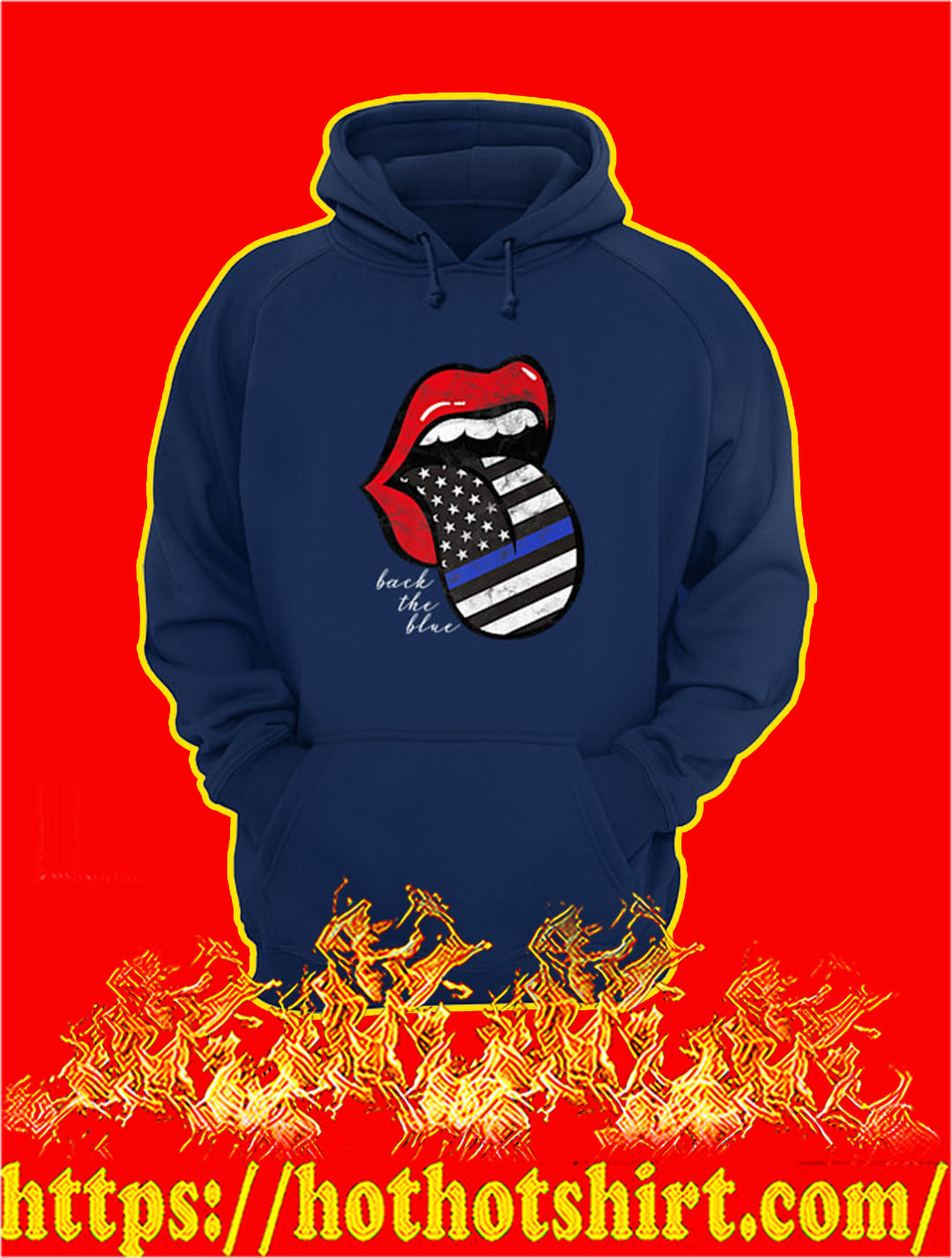2XL, Blue Rossi Hippy Jacket