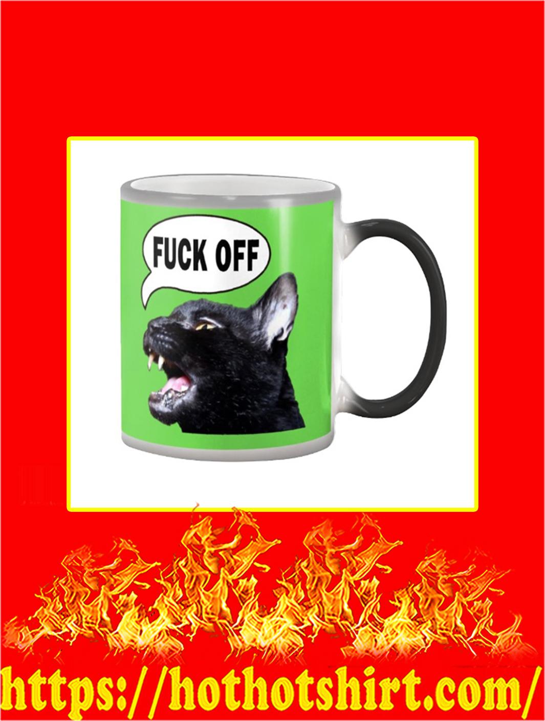 Sylvester Talking Kitty Cat Fuck Off Mug- kiwi