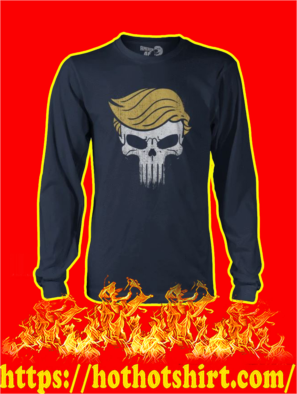 Trump Punisher longsleeve tee