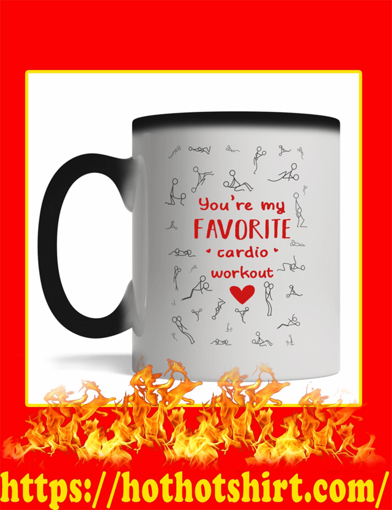 You're My Favorite Cardio Workout Magic Mug
