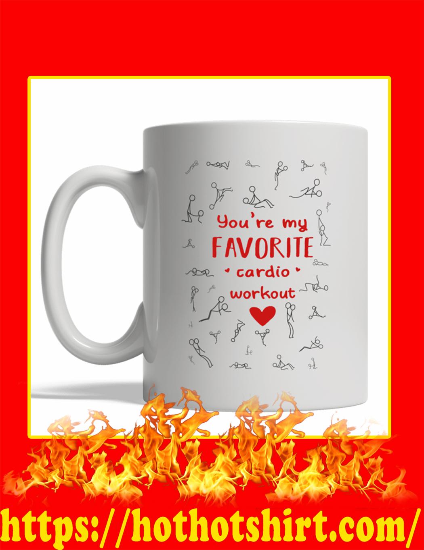 You're My Favorite Cardio Workout Mug