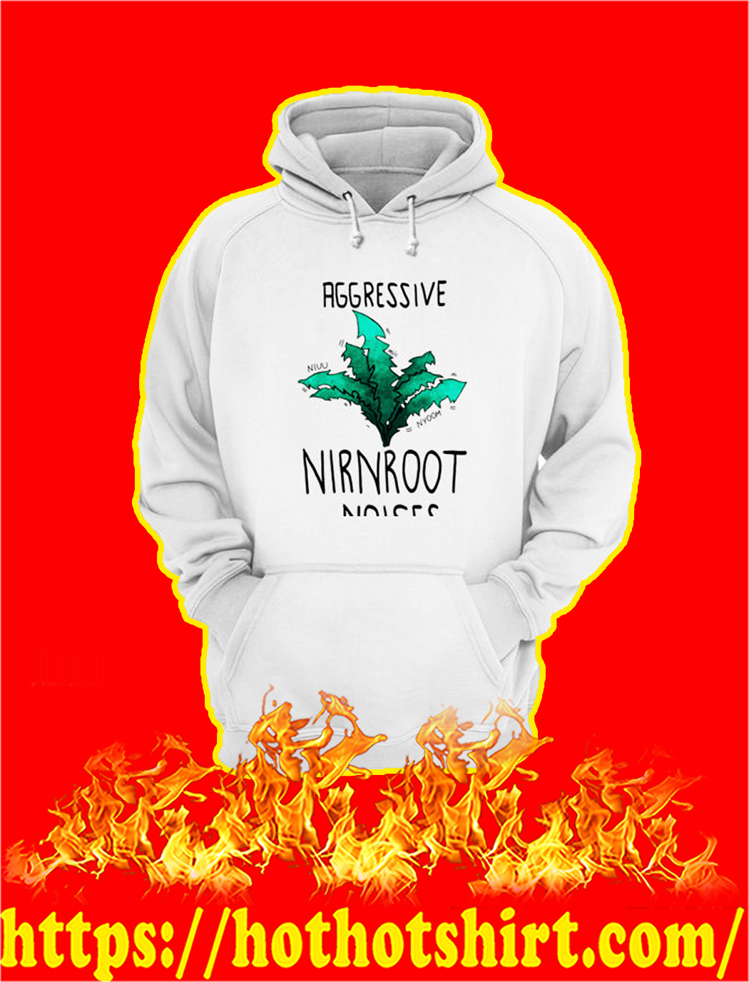 Aggressive Nirnroot Noises hoodie