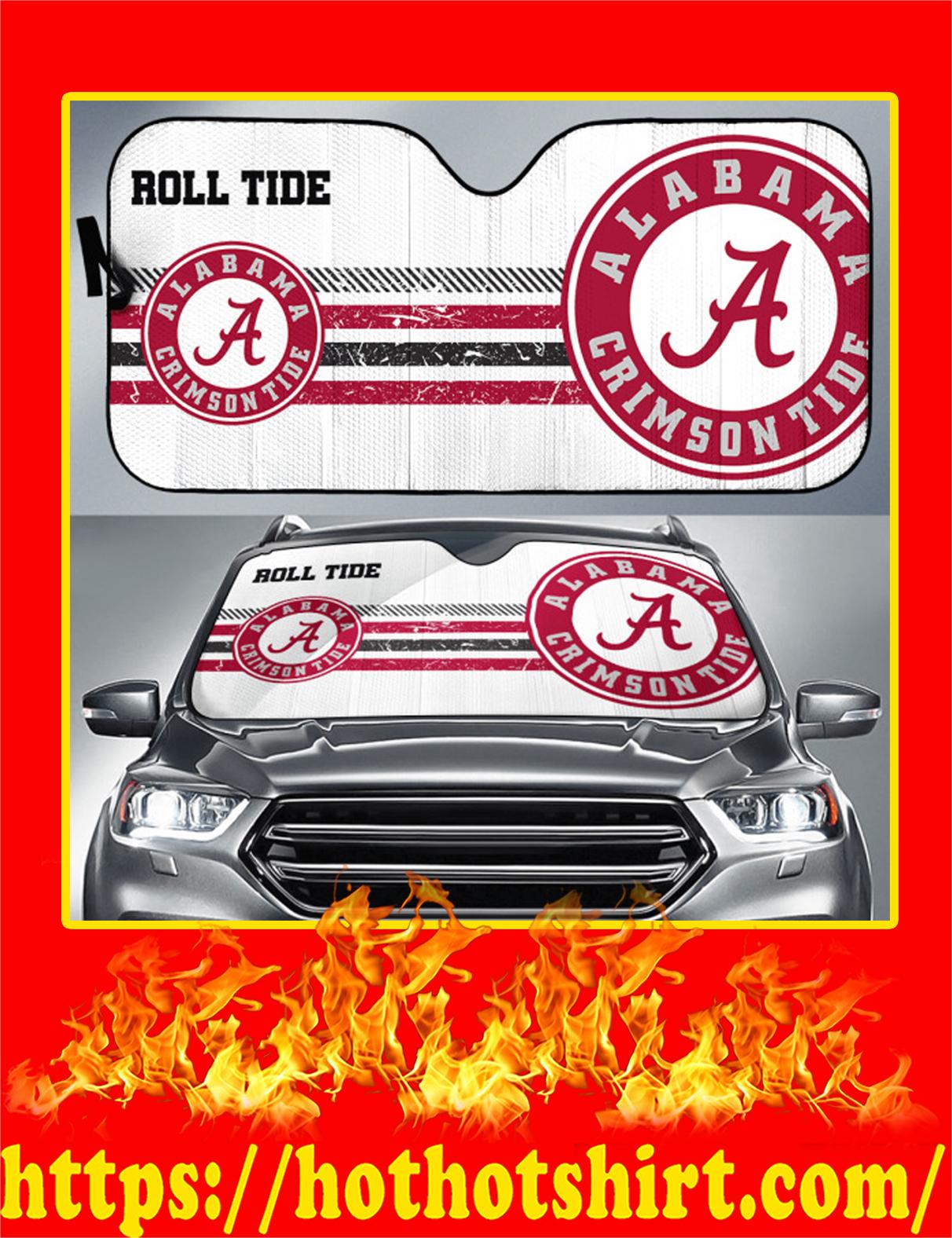 Alabama Crimson Tide Auto Sun Shade