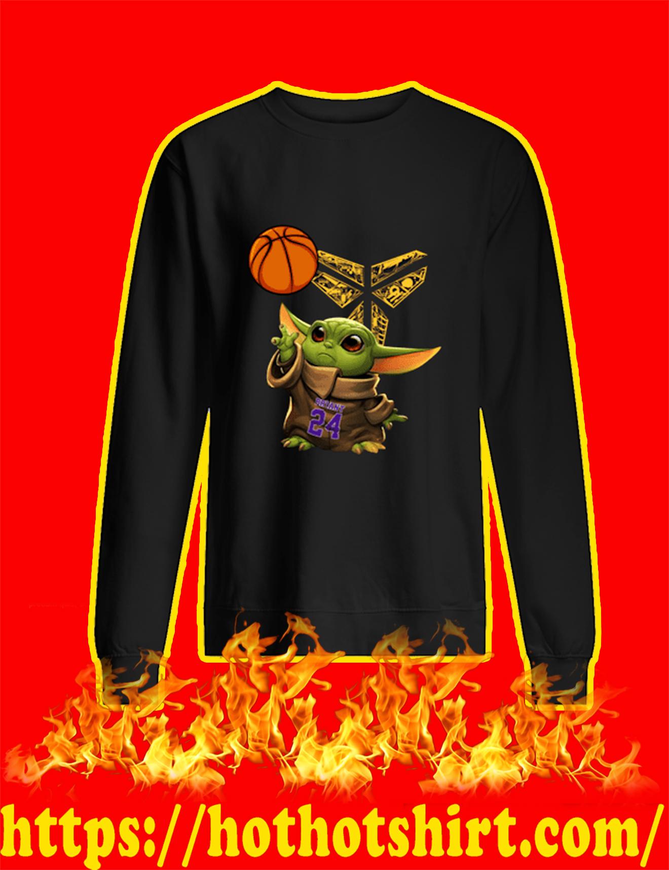 Baby Yoda Kobe Bryant Sweatshirt