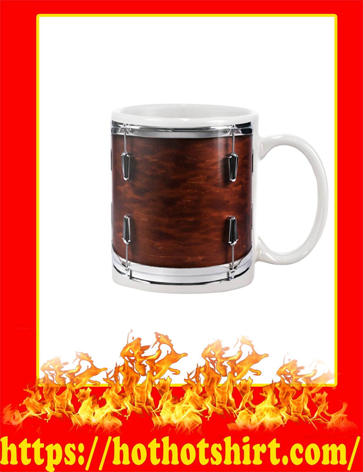 Drummer Drums Mug - White