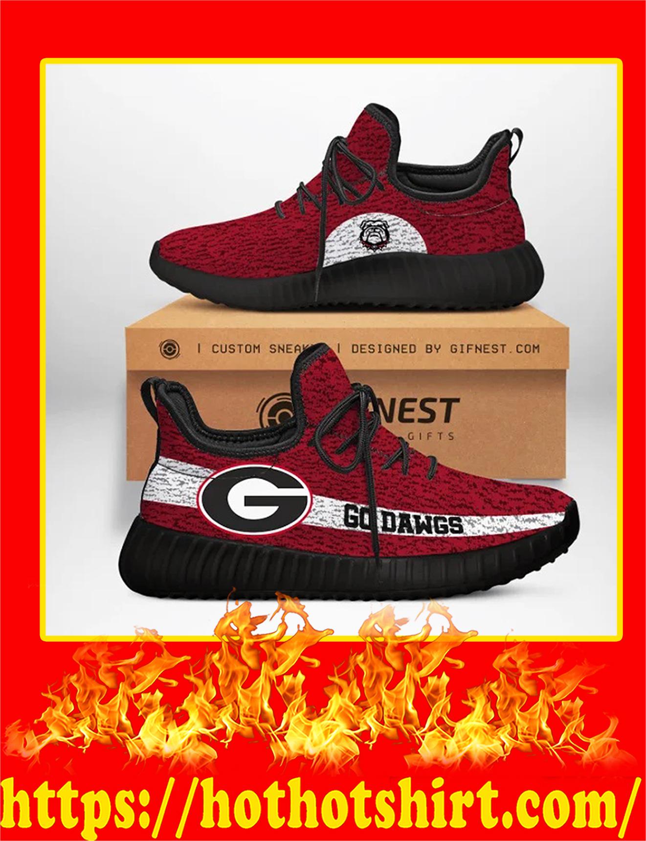 Georgia Bulldogs Go Dawgs NCAA Yeezy Sneaker