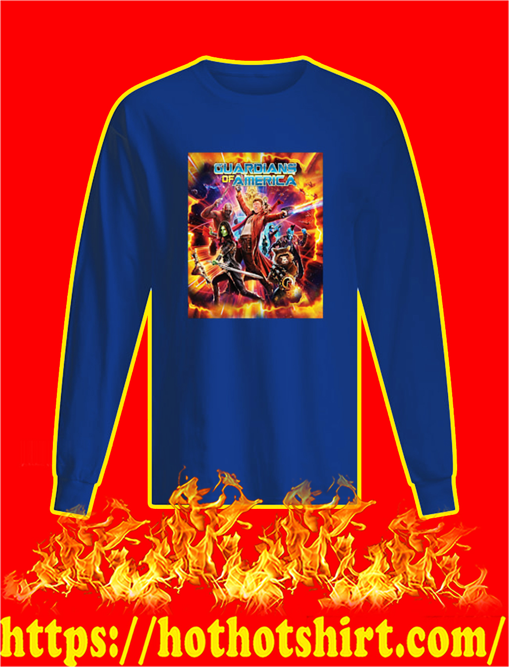 Guardians of America longsleeve tee