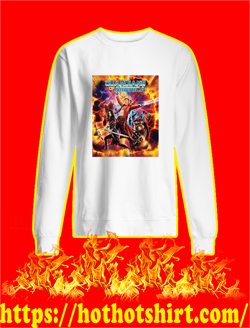 Guardians of America sweatshirt
