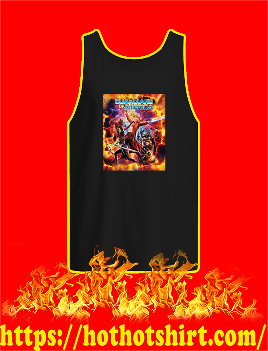 Guardians of America tank top