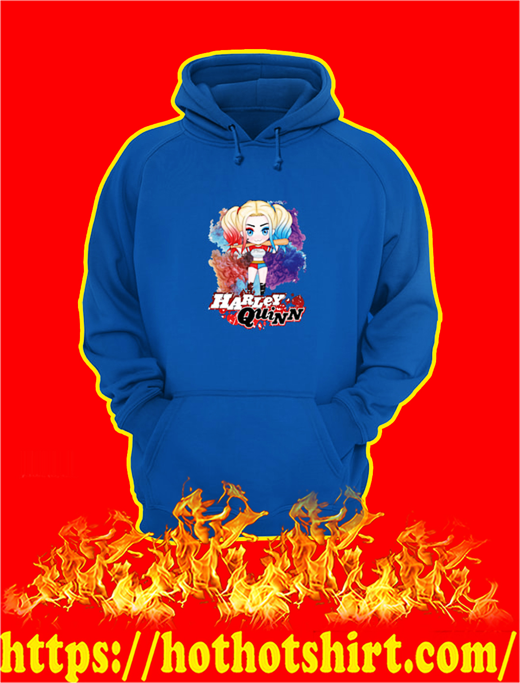 Harley Quinn Chibi hoodie