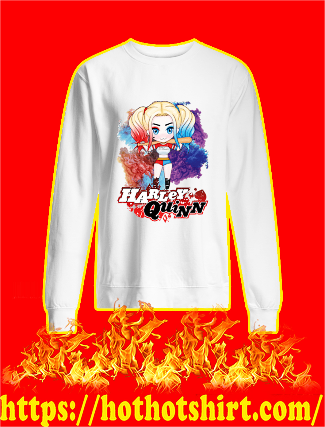 Harley Quinn Chibi sweatshirt
