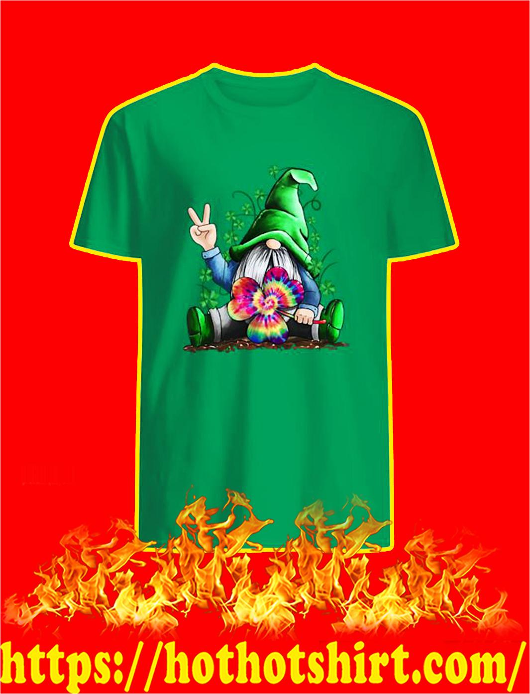 Hippie Gnome Irish St Patricks Day shirt