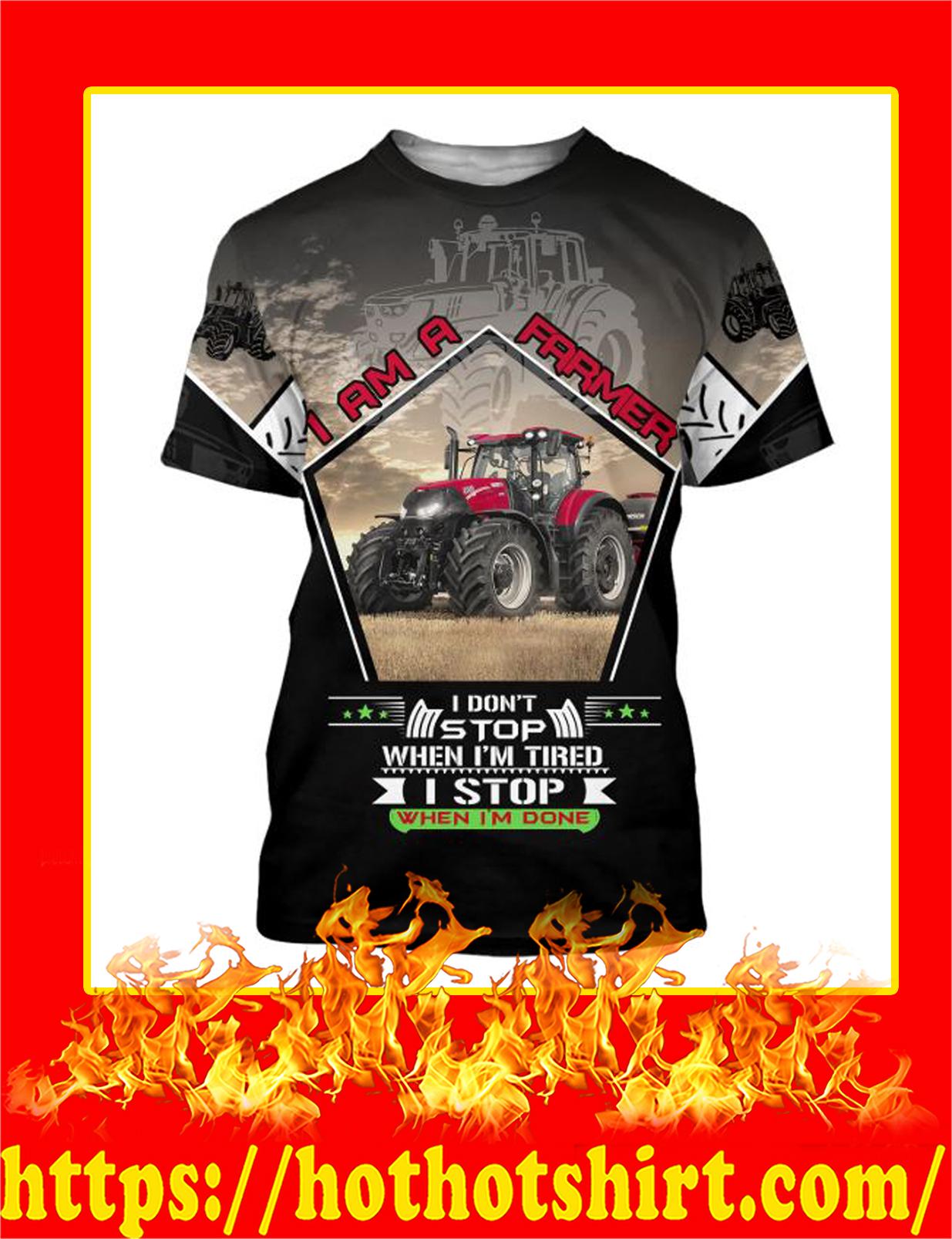 I Am A Farmer 3D All Over Printed t-shirt