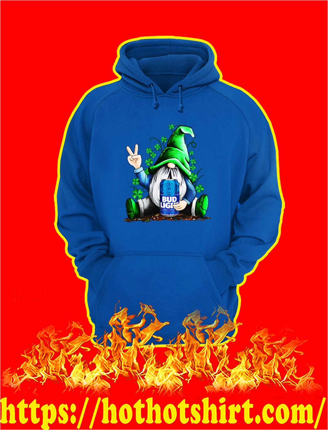 Irish Gnome Hug Bud Light St Patrick's Day hoodie