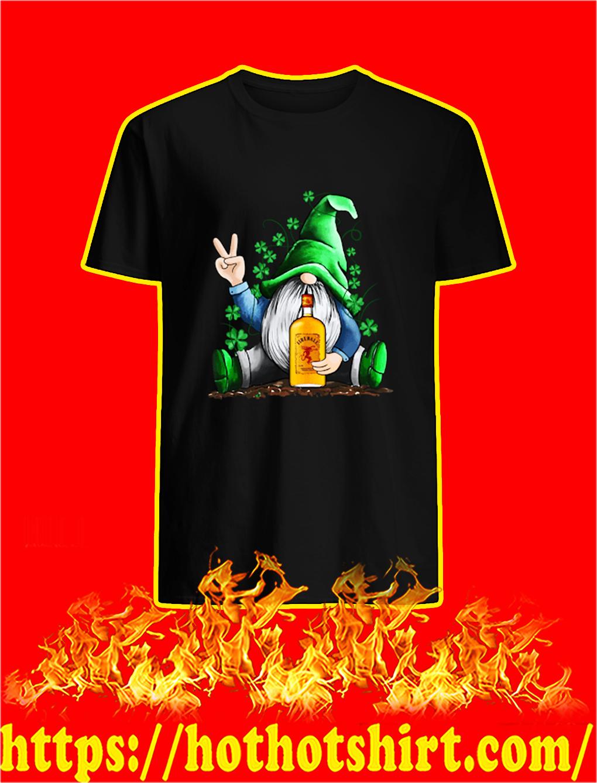 Irish Gnome Hug Fireball Cinnamon Whisky St Patrick's Day shirt