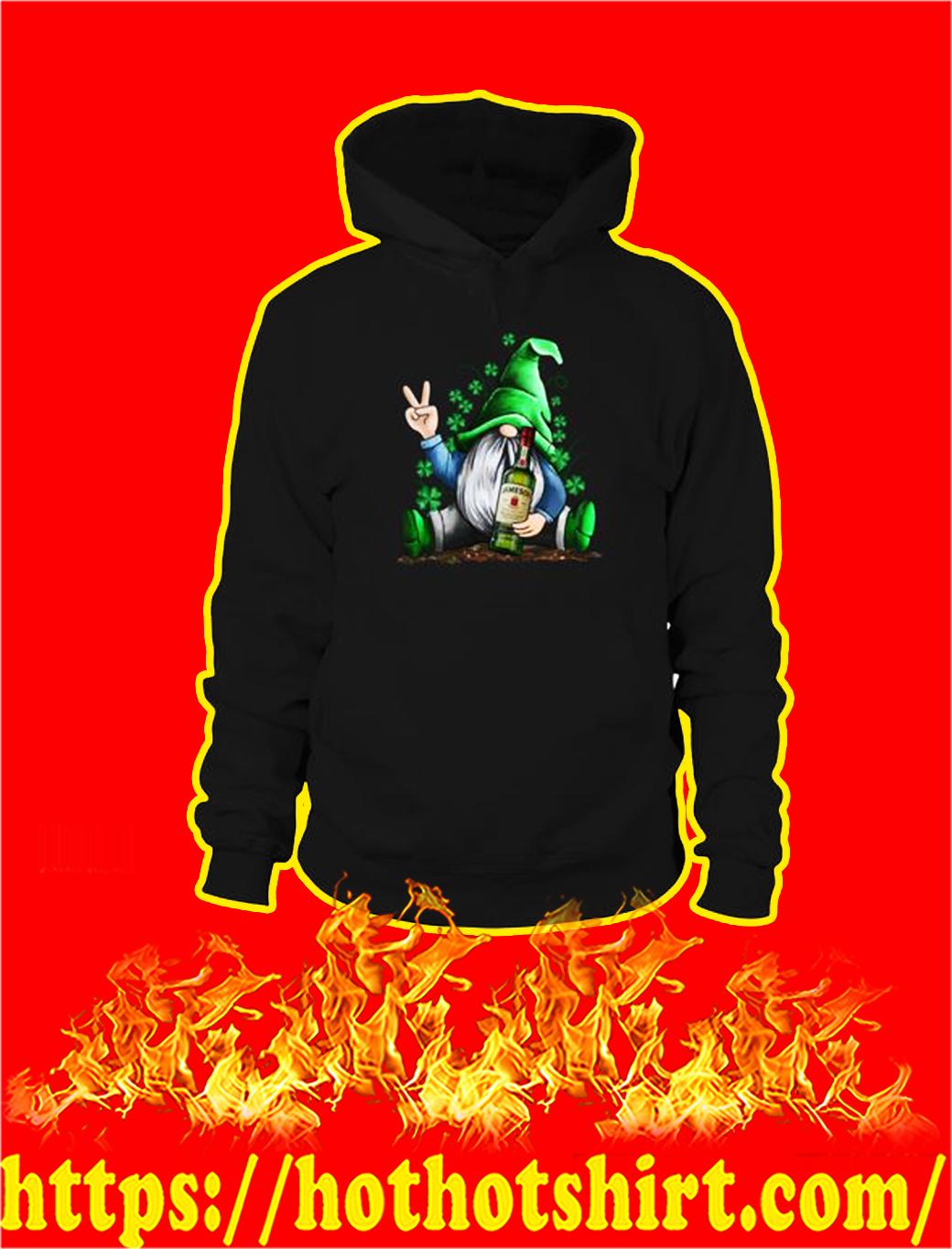 Irish Gnome Hug Jameson St Patrick's Day hoodie