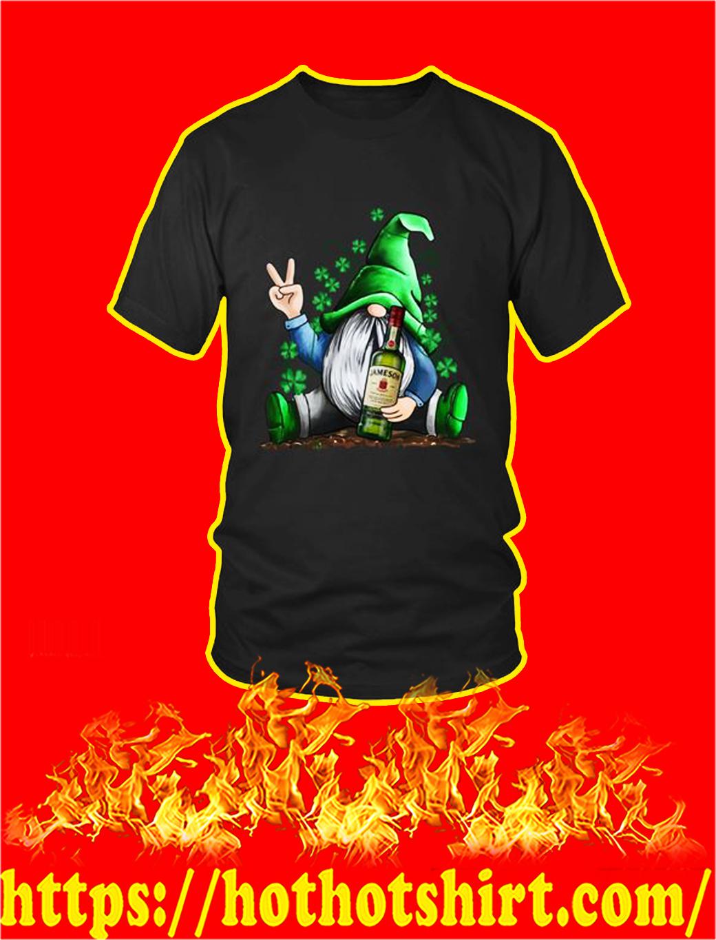 Irish Gnome Hug Jameson St Patrick's Day shirt