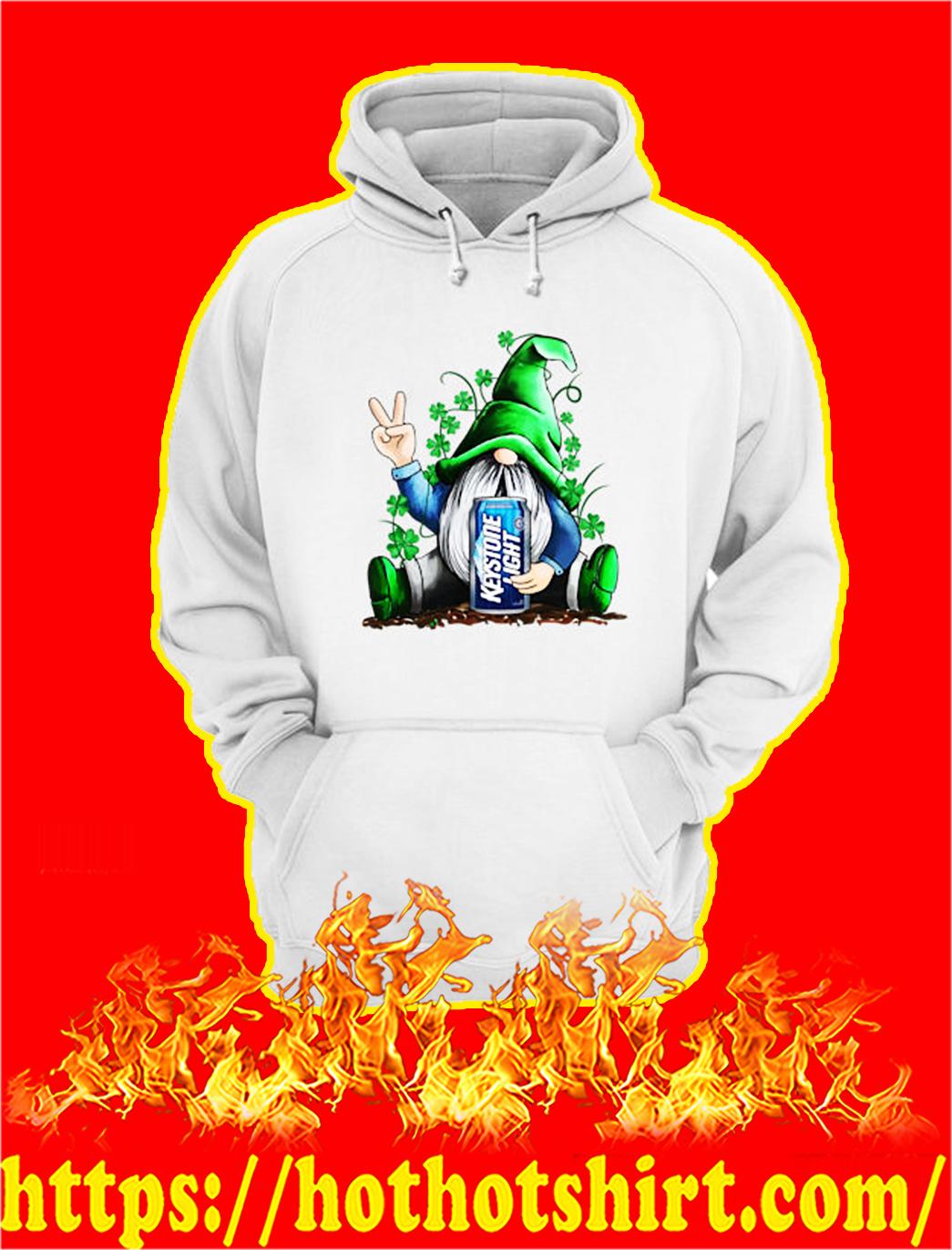 Irish Gnome Hug Keystone Light St Patrick's Day hoodie