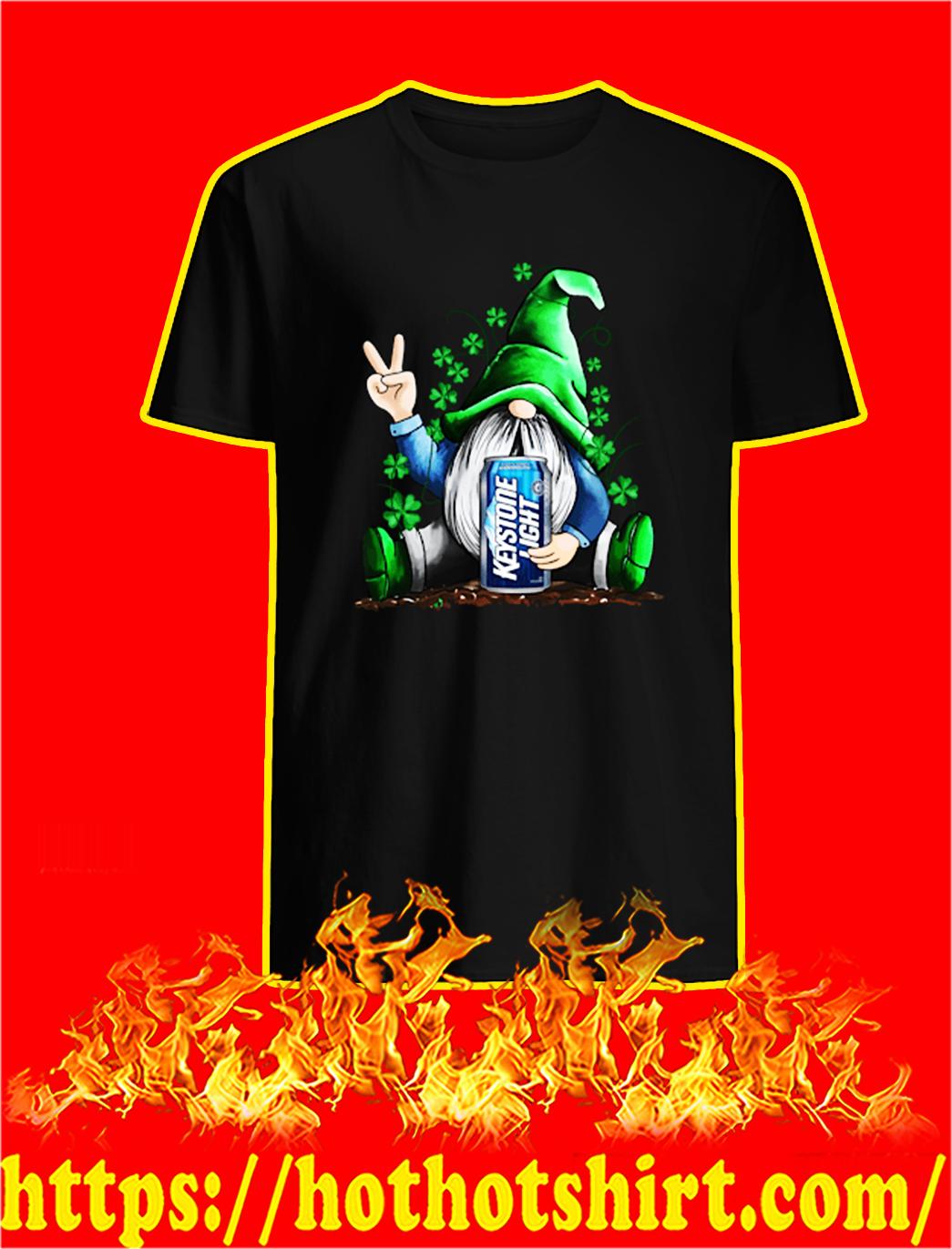 Irish Gnome Hug Keystone Light St Patrick's Day shirt