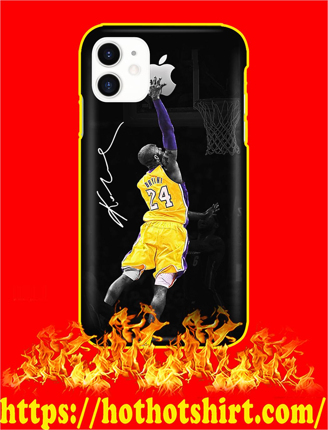 Kobe Bryant Apple Phone Case- iphone 11