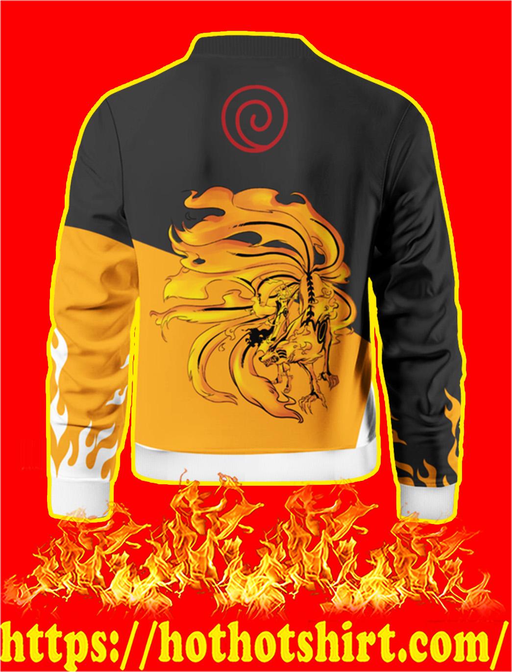 Naruto Style Bomber Jacket- back