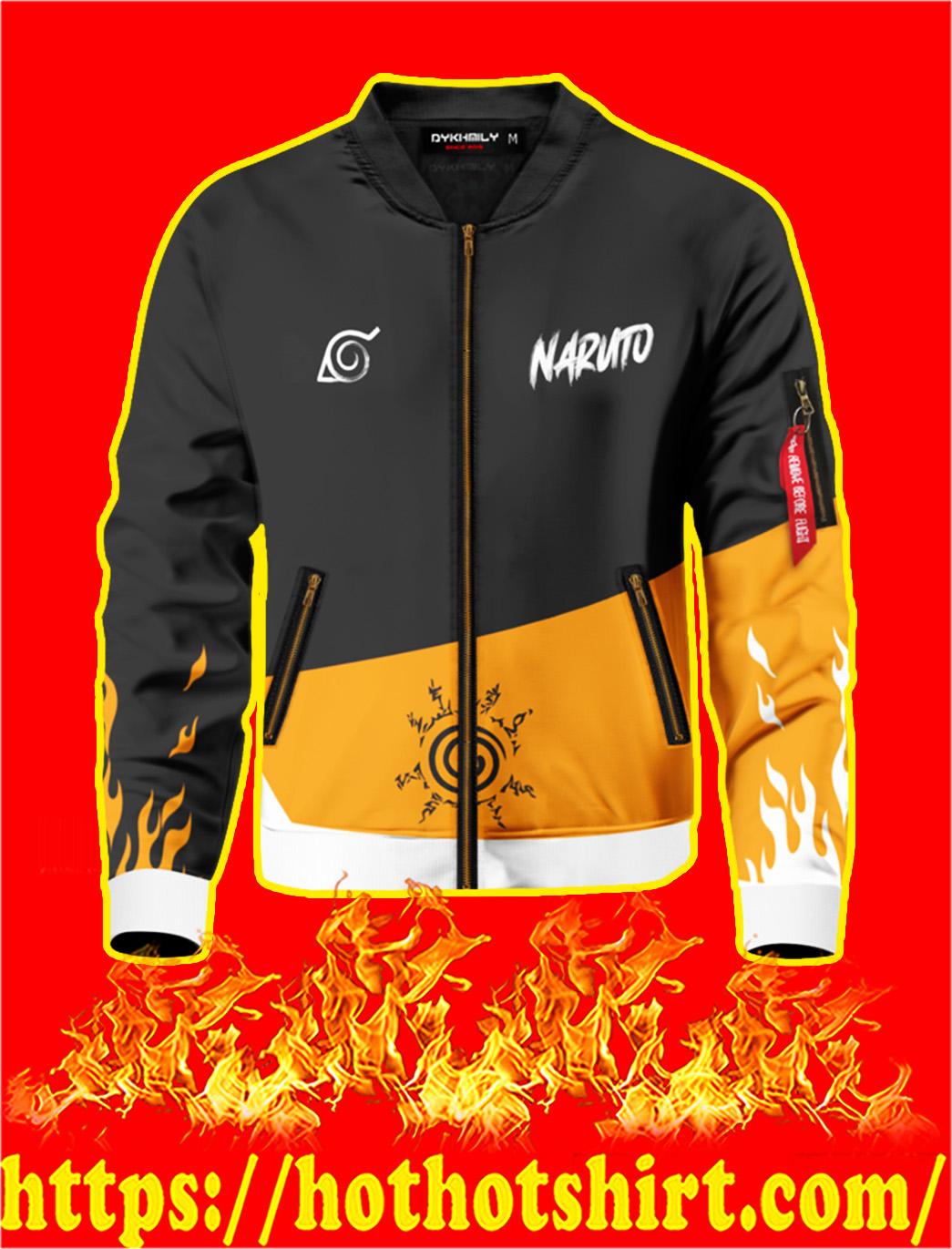Naruto Style Bomber Jacket- front