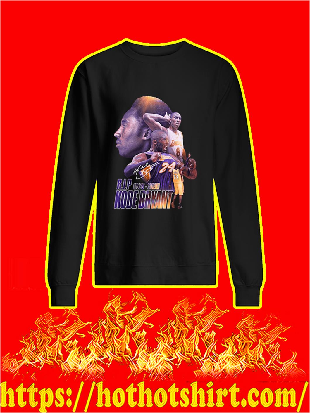 RIP Kobe Bryant Signature sweatshirt