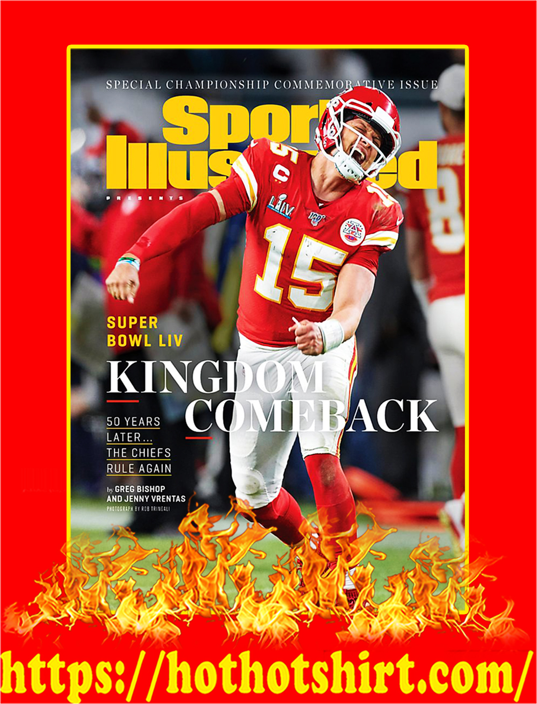 Sports Illustrated Covers Chiefs Kingdom Champion Poster - A2