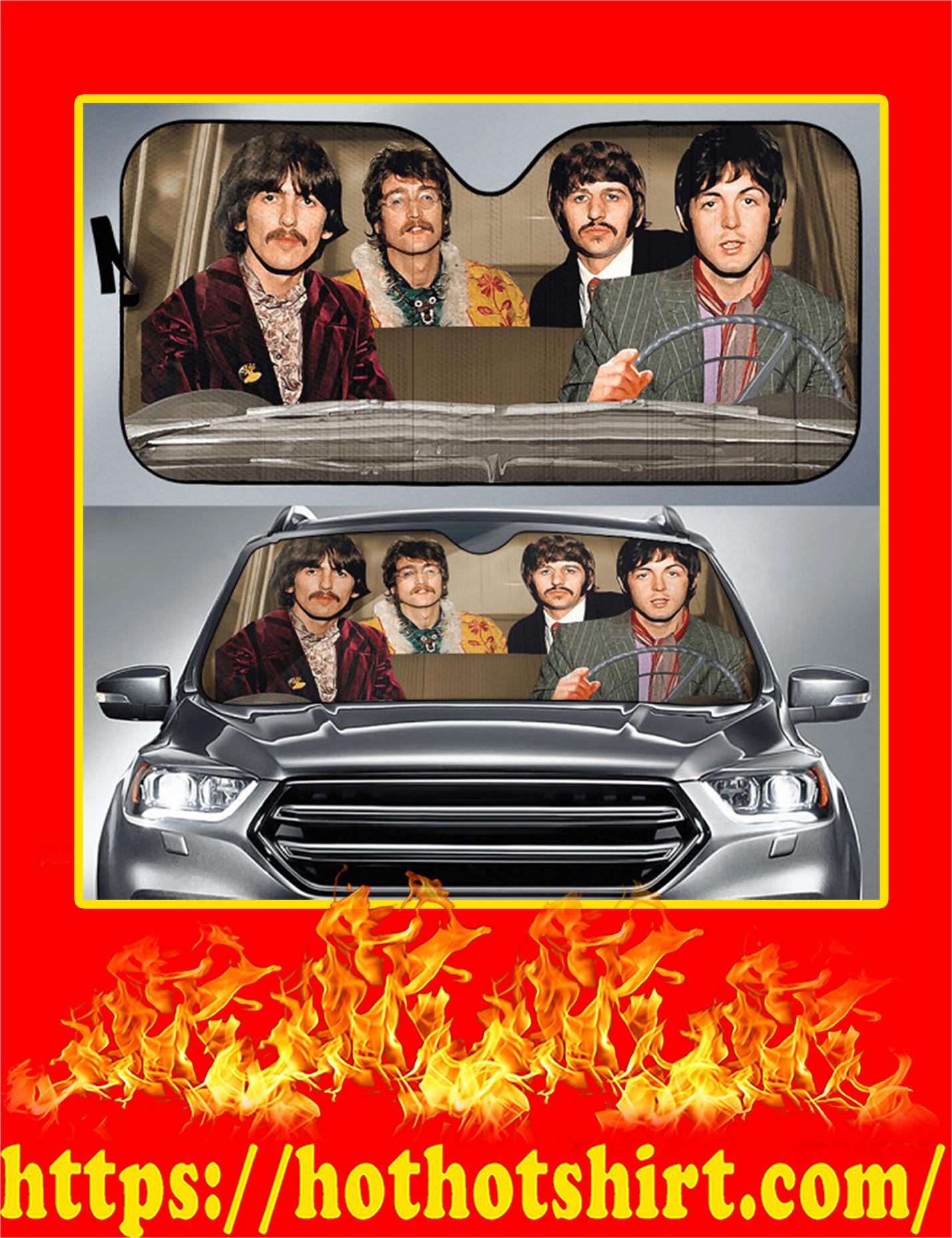 The Beatles Auto Sun Shade
