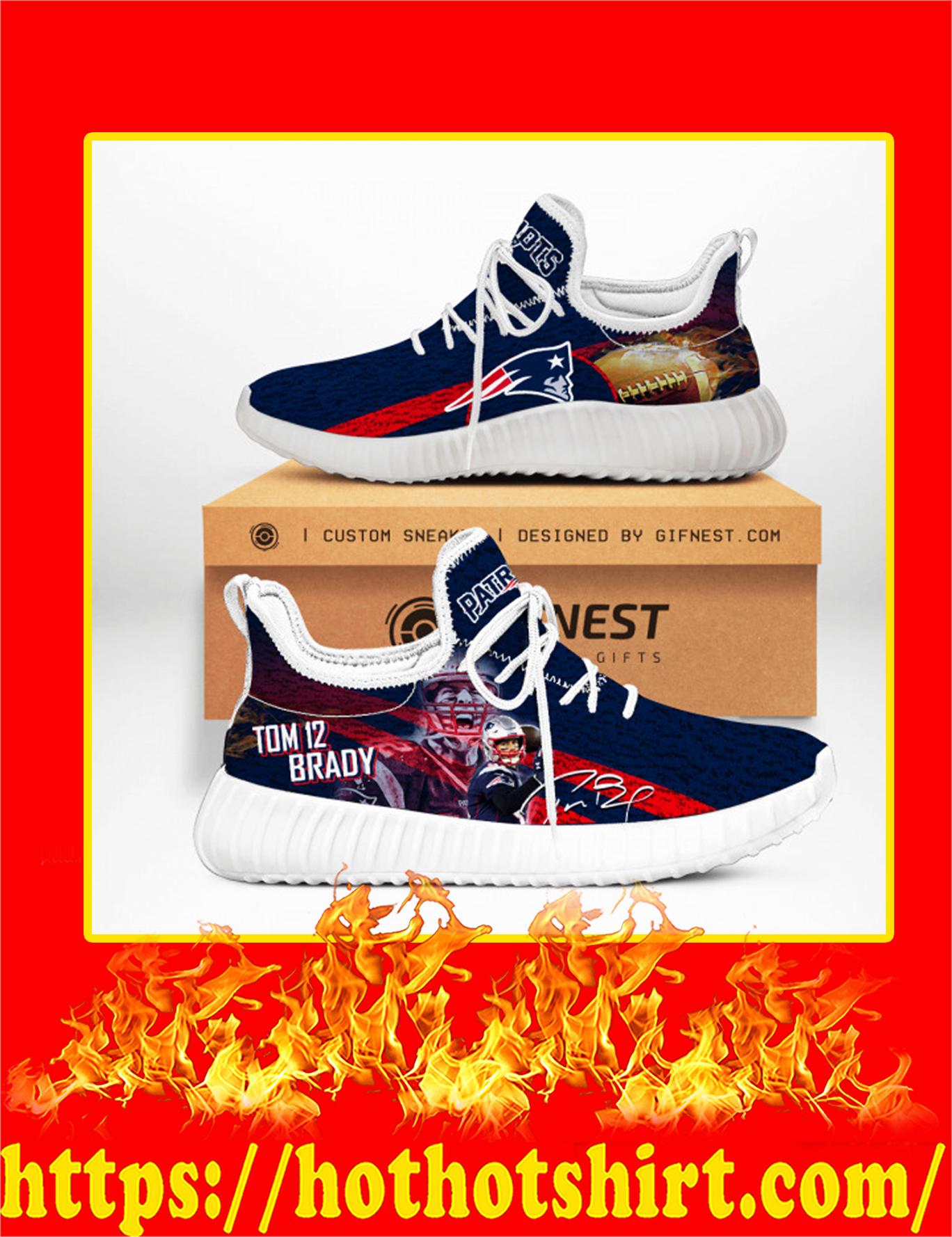 Tom Brady Patriots Yeezy Sneaker - White