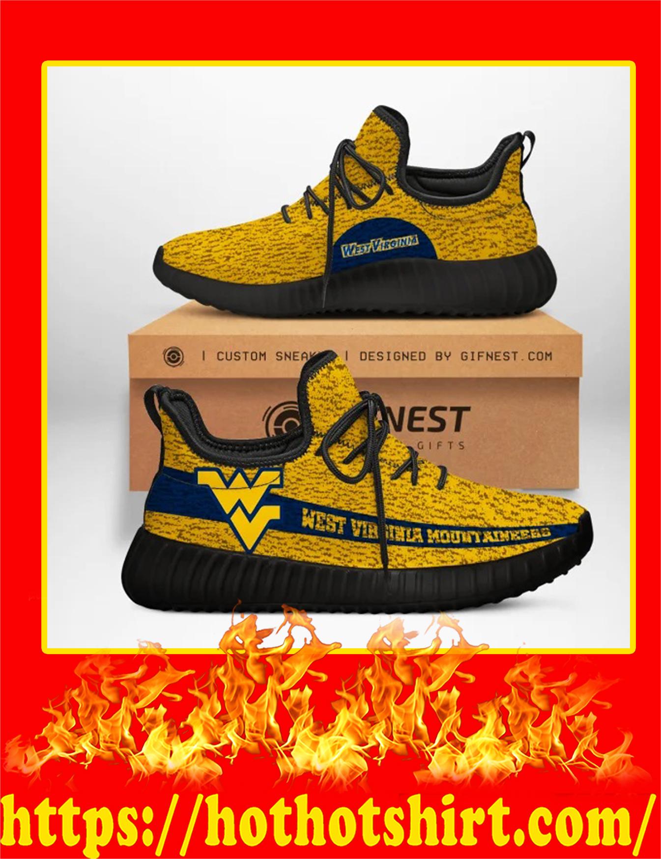 West Virginia Mountaineers NCAA Yeezy Sneaker - Man