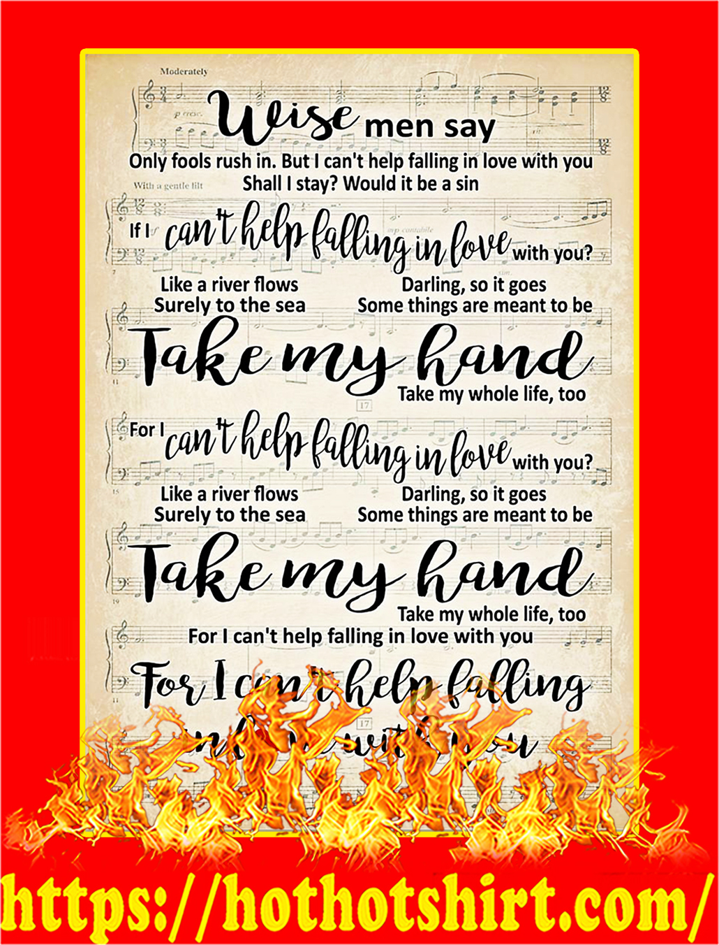 Wise Men Say Poster - A2